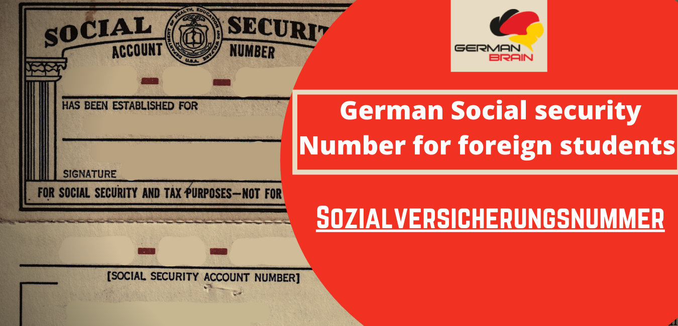 Social Insurance Number Germany